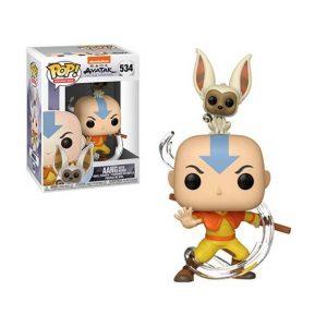 Avatar The Last Airbender Aang with Momo Pop! Vinyl (#534)