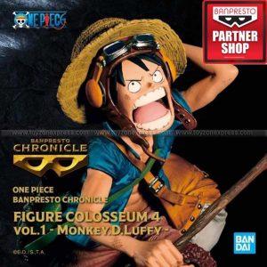 Banpresto - One Piece Chronicle Figure Colosseum 4 Vol 1 Monkey D Luffy
