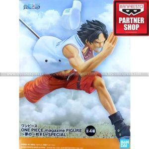 Banpresto - One Piece Magazine Figure Piece of a Dream No 1 Special Portgas D Ace
