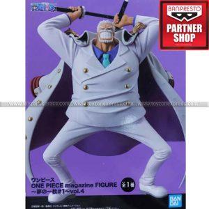 Banpresto - One Piece Magazine Figure Piece of a Dream No 1 (Vol 4) - Garp