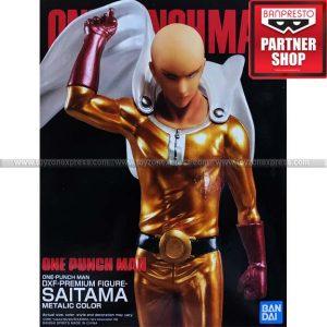 Banpresto - One Punch Man - Saitama (Metallic Ver)