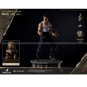 Blitzway BW-SS-20901 1 4 Bruce Lee Tribute Statue Ver 4