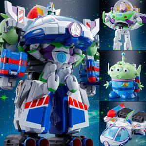 Chogokin Toy Toy Story Operation Combination - Buzz Robo