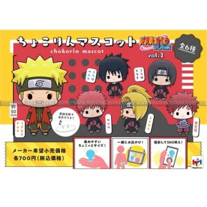 Chokorin Mascot Naruto Vol 2 Set
