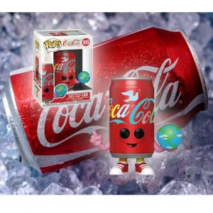 Coca-Coca I'd Like to Buy the World a Coke Can Pop! Vinyl Figure