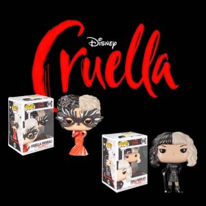 Cruella Pop! Vinyl Figure