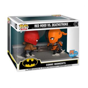 DC Comic Red Hood vs Deathstroke Comic Moment Pop! Vinyl 2-Pack - SDCC 2020 Px Exclusive (#336)
