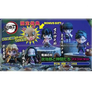 Demon Slayer Tanjiro & Friends Mascot Set