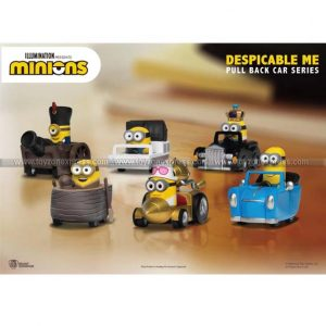 Despicable Me Series Pull Back Car Series