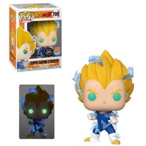 Dragon Ball Super Saiyan 2 Vegeta Pop! Vinyl Figure (#709) Px Exclusive (CHASE)