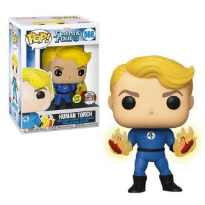 Fantastic Four Human Torch Suited Pop! Vinyl Figure - Specialty Series