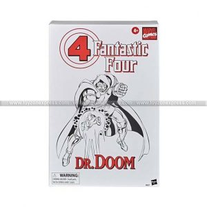 Fantastic Four Marvel Legends Series 6-Inch Doctor Doom Action Figure - Exclusive