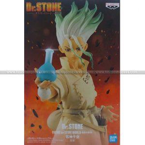 Figure of Stone World Kingdom of Stone - Dr Stone - Senku Ishigami