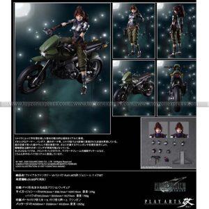 Final Fantasy VII Remake Play-Arts Kai Jessie & Motorcycle Set