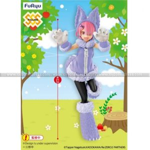 Furyu - Re Life in a Different World from Zero - Ram (The Wolf and The Seven Kids Pastel Color Ver)