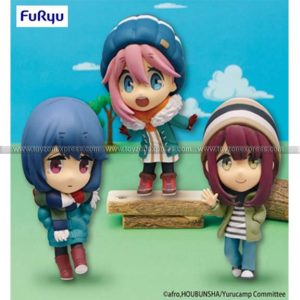 Furyu - Yurucamp Chobirume Set of 3 Season 2