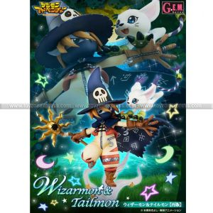 GEM Digimon Wizarmon & Tailmon