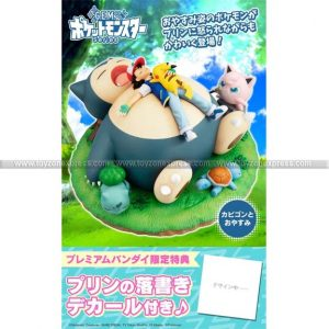 GEM Pocket Monster A Nap with Snorlax GIFT INCLUSIVE