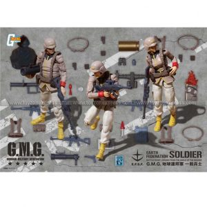 GMG Mobile Suit Gundam Earth United Army Soldier