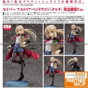 GSC - Fate - Saber Altria Pendragon (Alter) Heroic Spirit Traveling Outfit Ver
