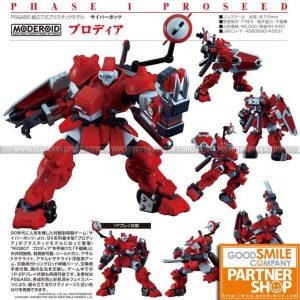 GSC - MODEROID - Cyberbots Full Metal Madness - Blodia
