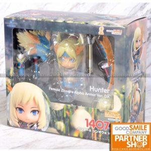 GSC - Nendoroid 1407‐DX - Monster Hunter - Hunter Female Zinogre Alpha Armor Ver DX