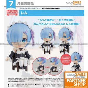 GSC - Re Life in a Different World from Zero - Nendoroid Swacchao! Rem