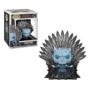 Game of Thrones Night King Sitting on Throne Deluxe Pop! Vinyl Figure (#74)
