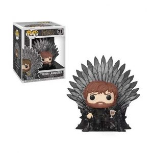 Game of Thrones Tyrion Lannister Sitting on Throne Deluxe Pop! Vinyl Figure (#71)