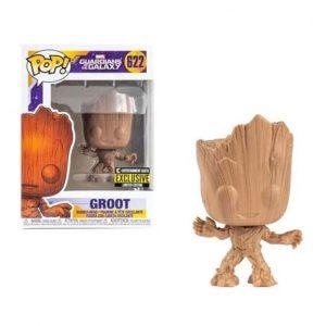 Guardians of the Galaxy Groot Wood Deco Pop! Vinyl Figure - EE Exclusive