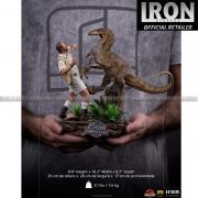 Iron Studio - Clever Girl Deluxe Art Scale 1 10 Statue - Jurassic Park