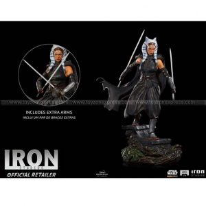 Iron Studios - Ahsoka Tano - The Mandalorian - Legacy Replica 1 4