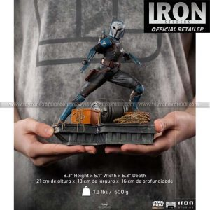 Iron Studios - Bo-Katan BDS Art Scale 1 10 - The Mandalorian