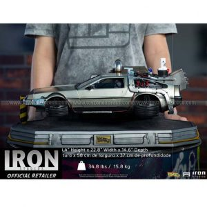 Iron Studios - DeLorean Regular Version - Back to the Future Part II - Art Scale 1 10