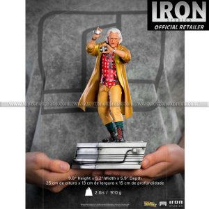Iron Studios - Doc Brown - Back to the Future Part II - Art Scale 1 10