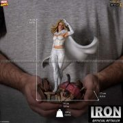 Iron Studios - Emma Frost BDS Art Scale 1 10 - Marvel Comics