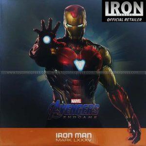 Iron Studios - Iron Man Mark LXXXV DELUXE BDS Art Scale 1 10 - Avengers Endgame