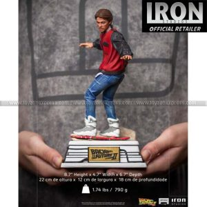 Iron Studios - McFly on Hoverboard - Back to the Future - Art Scale 1 10