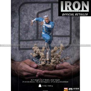 Iron Studios - Quicksilver BDS Art Scale 1 10 - Marvel Comics