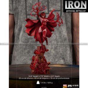 Iron Studios - Scarlet Witch BDS Art Scale 1 10 - Marvel Comics