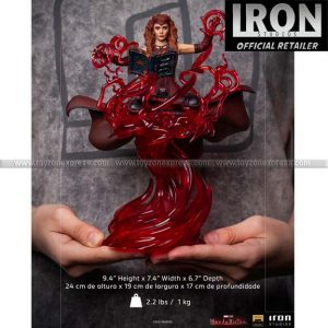 Iron Studios - Scarlet Witch Deluxe Art Scale 1 10