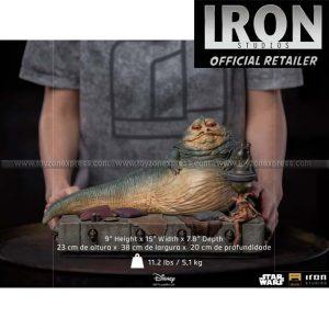Iron Studios - The Hutt Deluxe Art Scale 1 10 - Star Wars