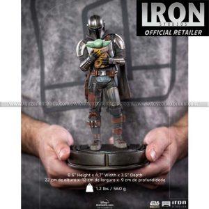 Iron Studios -The Mandalorian and Grogu Art Scale 1 10 - The Mandalorian