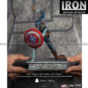 Iron Studios - Zombie Captain America - What If - Art Scale 1 10