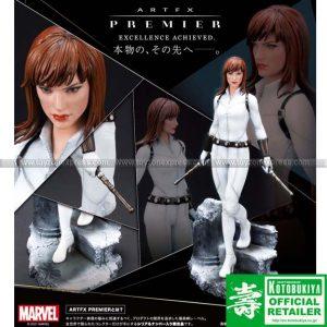 Kotobukiya - Artfx Premier Blackwidow White Costume Edition