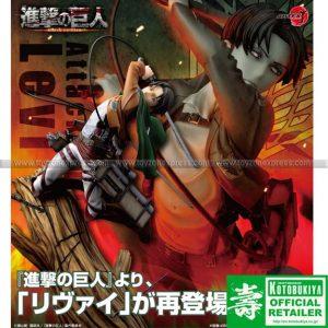 Kotobukiya - Attack on Titan - Artfx J Levi Renewal Package Ver