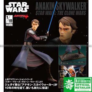 Kotobukiya - Star Wars - Artfx+ Anakin Skywalker The Clone Wars