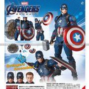 Mafex No130 Captain America (Endgame Ver)