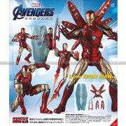 Mafex No136 Iron Man Mark85 (Endgame Ver)