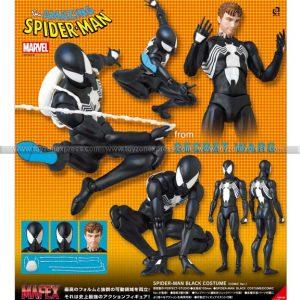 Mafex Spider-Man Black Costume (Comic Ver)